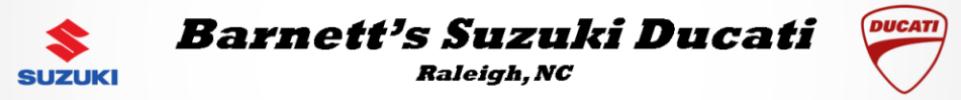 Barnett's Suzuki Ducati Raleigh, NC
